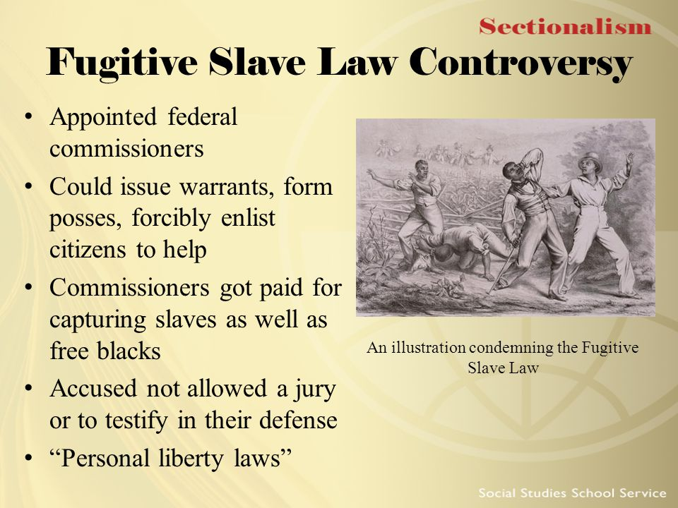 Fugitive Slave Law Controversy