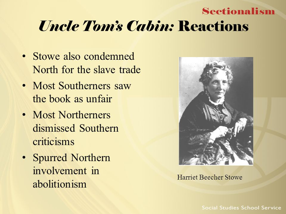 unfair criticisms of stowe's uncle tom's Harriet beecher stowe's — uncle_tom's_cabin_ was perhaps the most influential novel in history its stark depictions of the horrors of slavery inflamed the sentiments of abolitionists, both in the us and abroad.