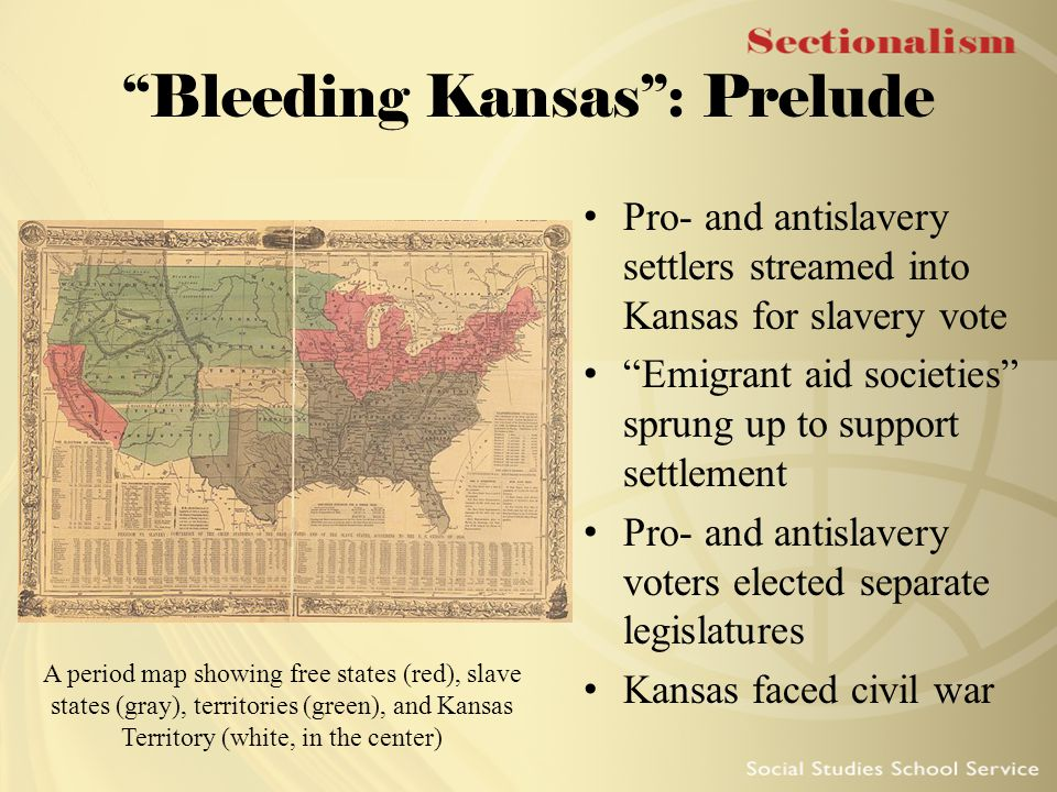 Bleeding Kansas : Prelude