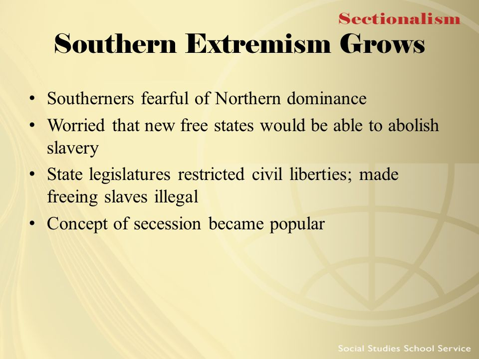 Southern Extremism Grows