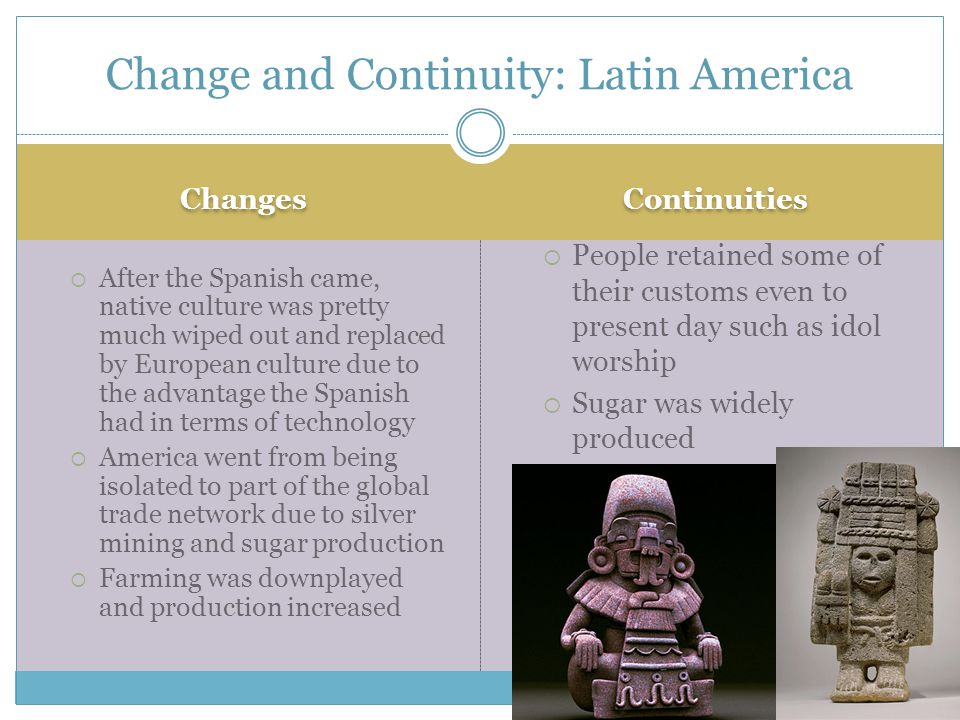 Change and Continuity: Latin America