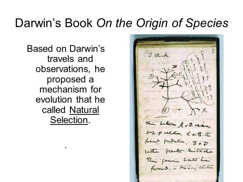 Darwin's Book On the Origin of Species