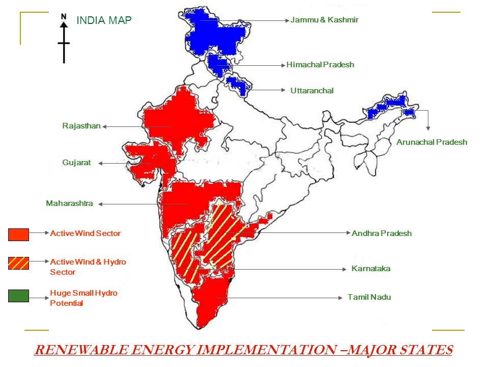 RENEWABLE ENERGY IMPLEMENTATION –MAJOR STATES