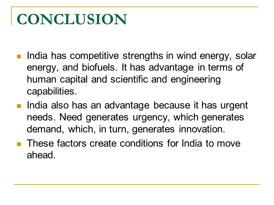 fossil fuels conclusion