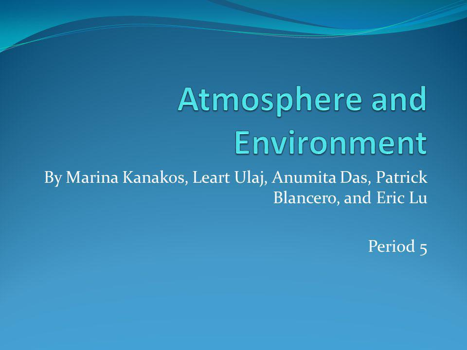 Atmosphere and Environment
