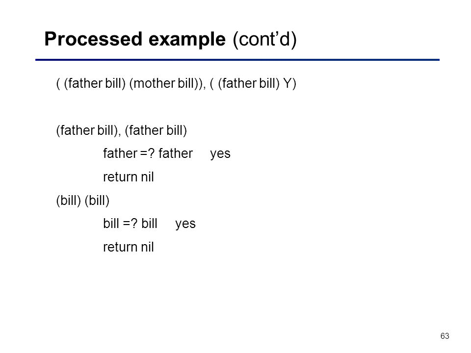 Processed example (cont'd)