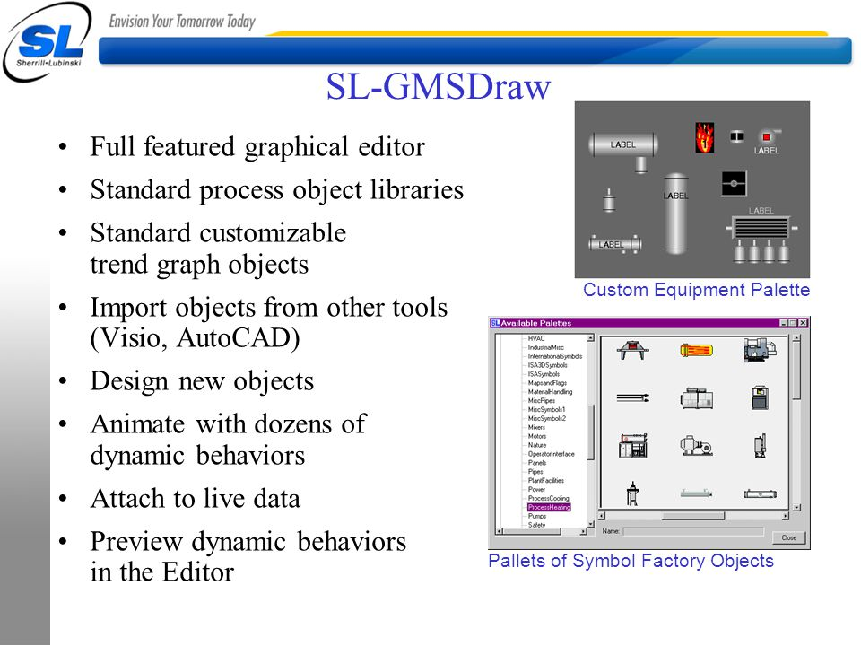 SL-GMSDraw Full featured graphical editor