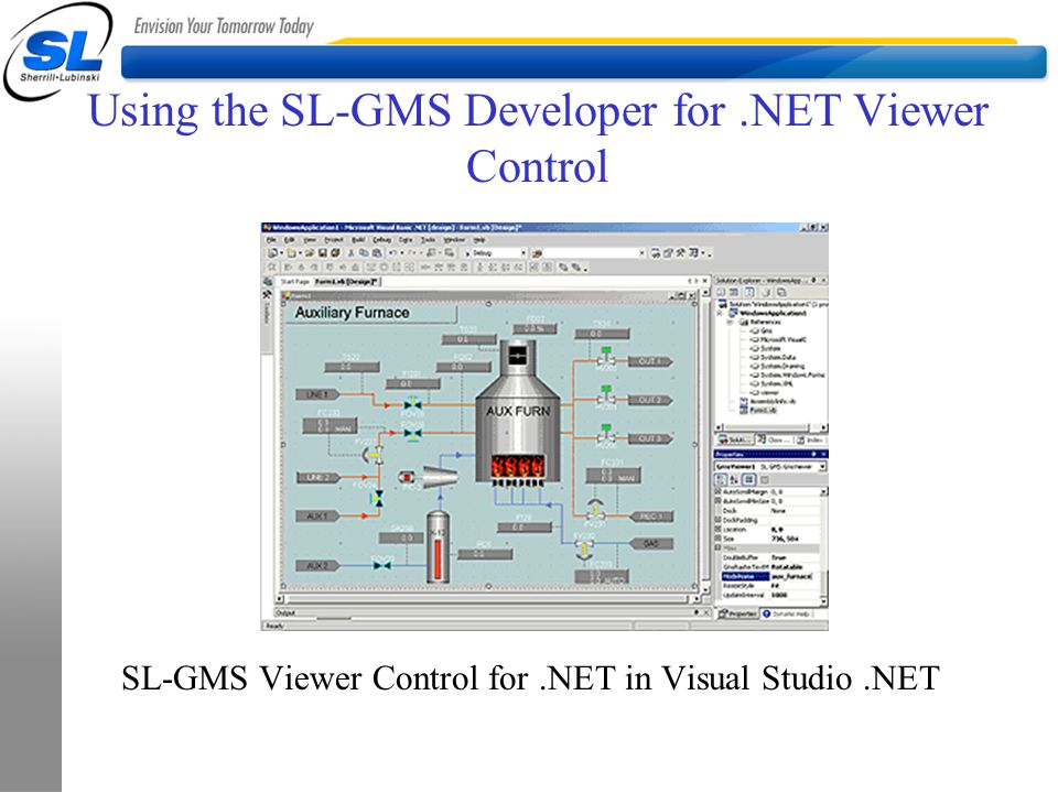 Using the SL-GMS Developer for .NET Viewer Control