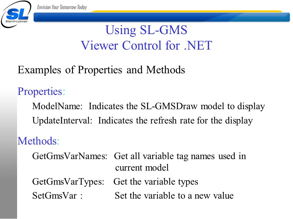 Using SL-GMS Viewer Control for .NET