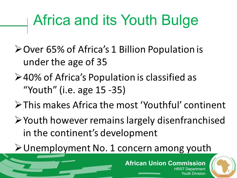 Africa and its Youth Bulge
