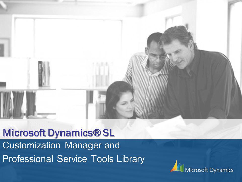 Microsoft Dynamics® SL