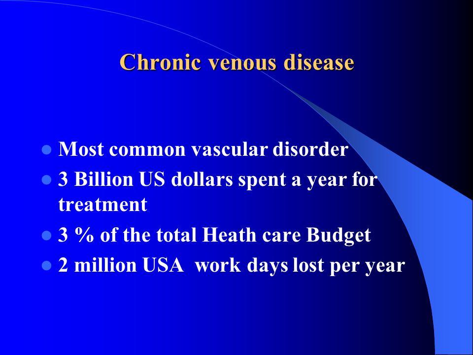 Chronic venous disease