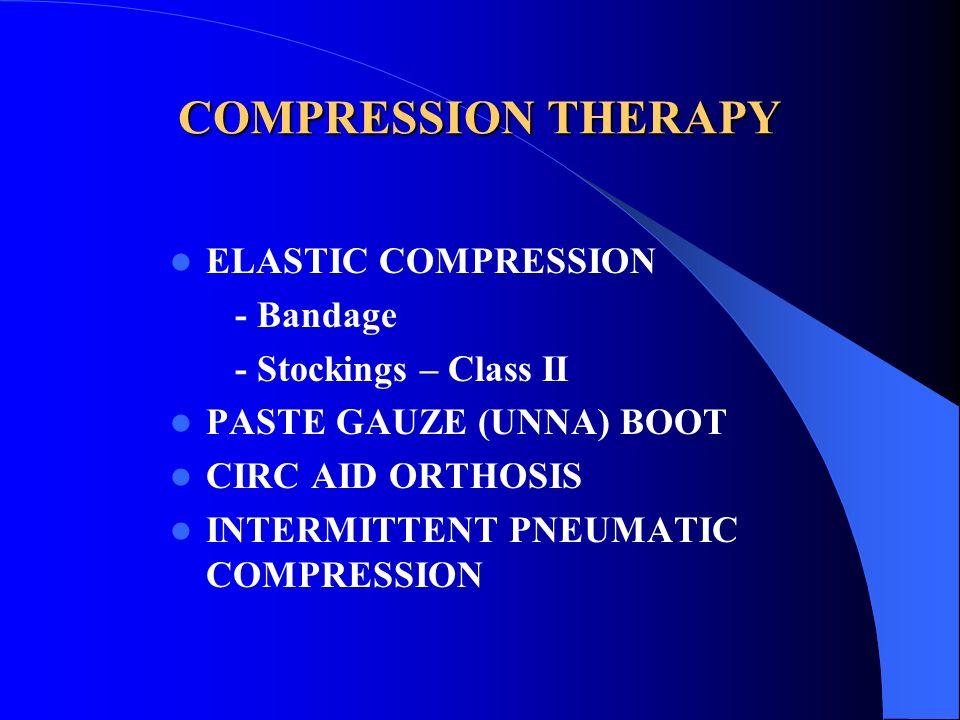 COMPRESSION THERAPY ELASTIC COMPRESSION - Bandage