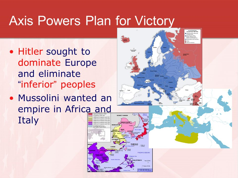Axis Powers Plan for Victory