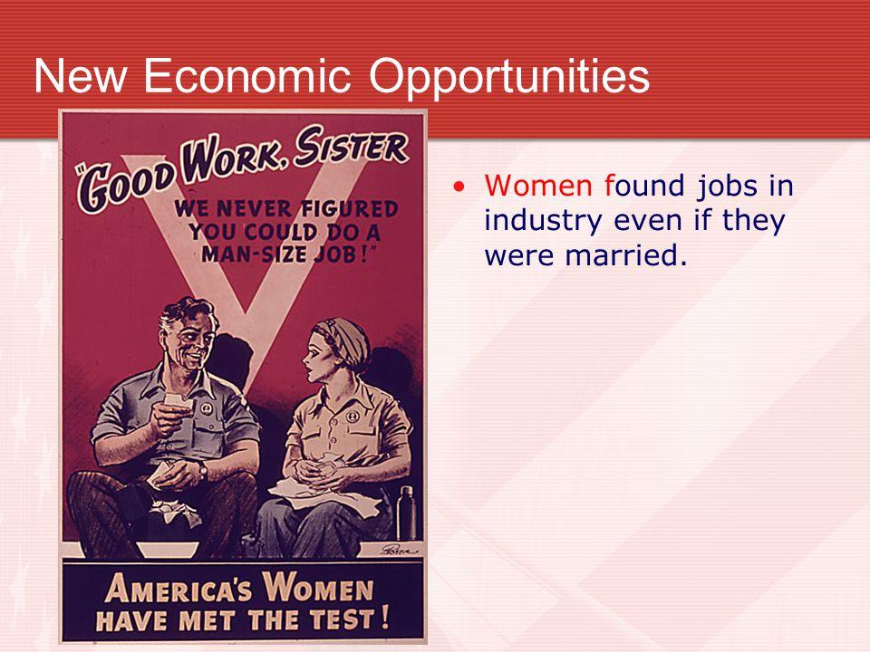 New Economic Opportunities