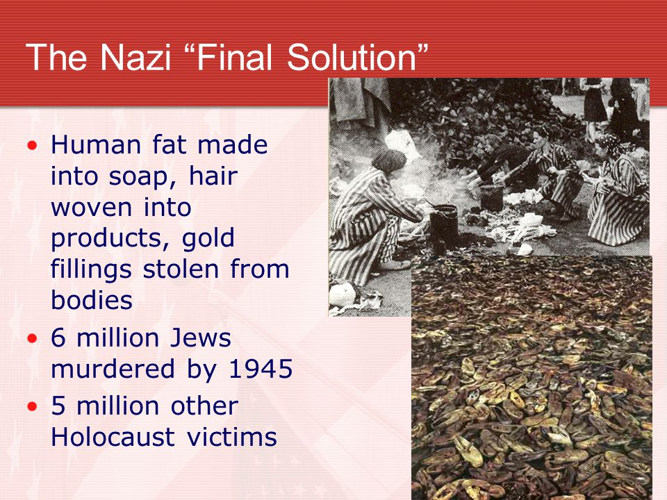 The Nazi Final Solution