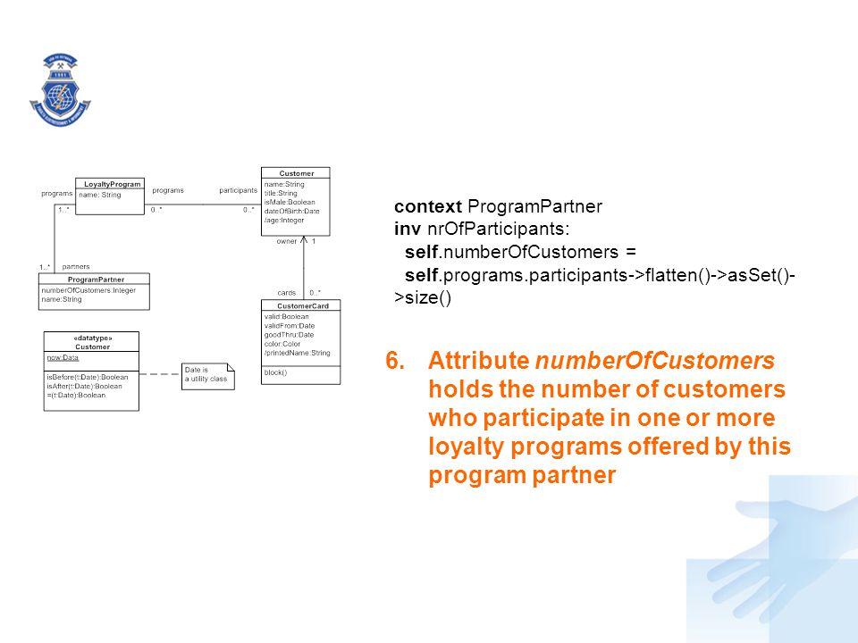 context ProgramPartner