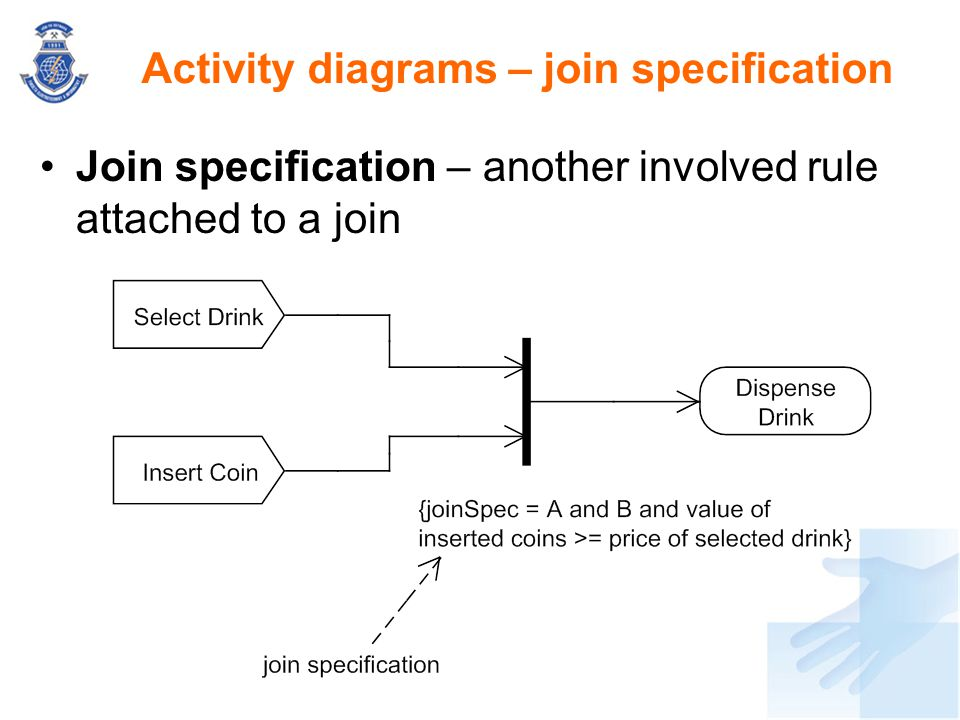 Activity diagrams – join specification
