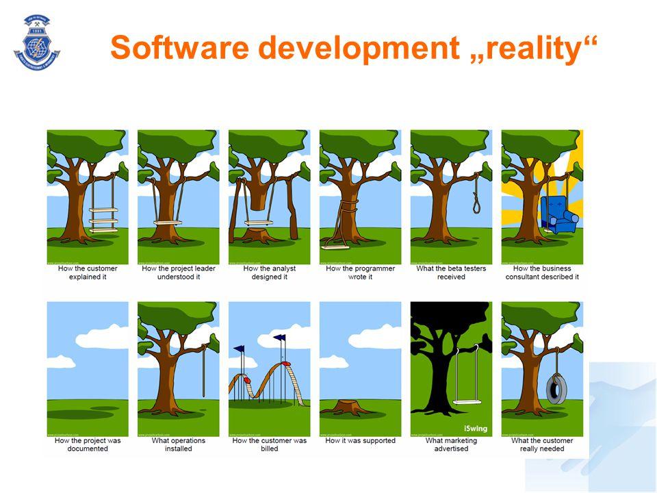 "Software development ""reality"