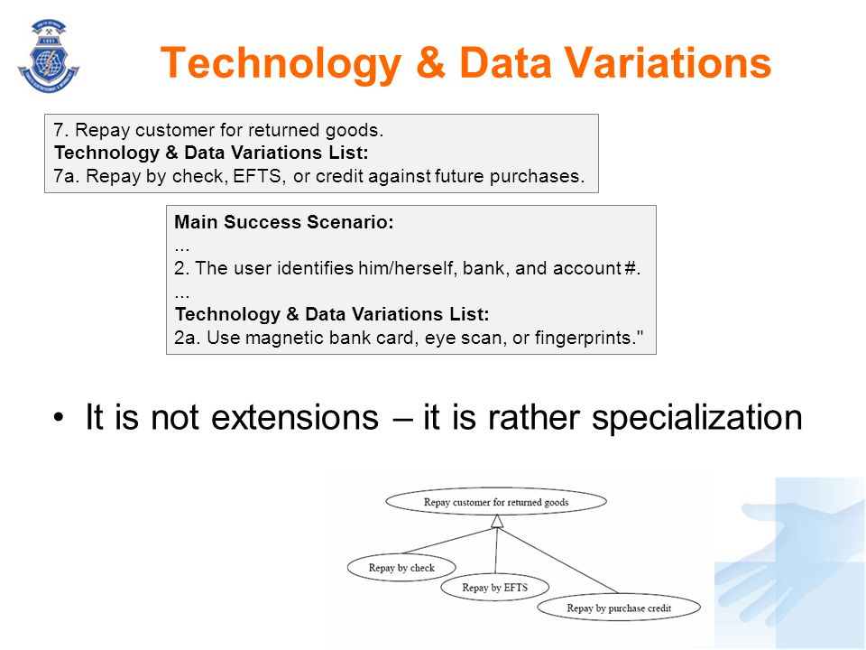 Technology & Data Variations
