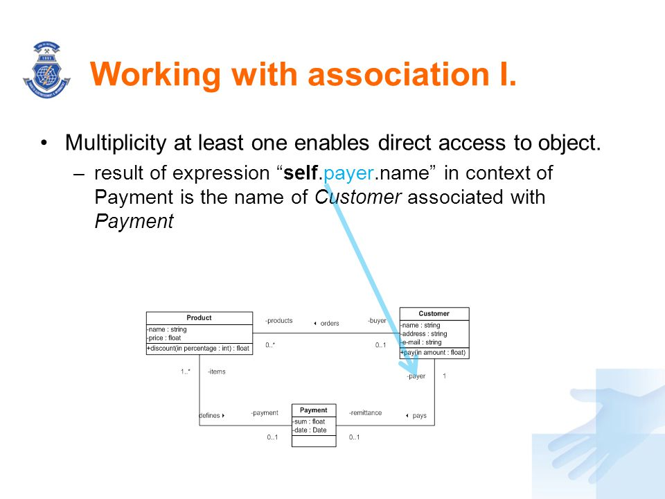 Working with association I.