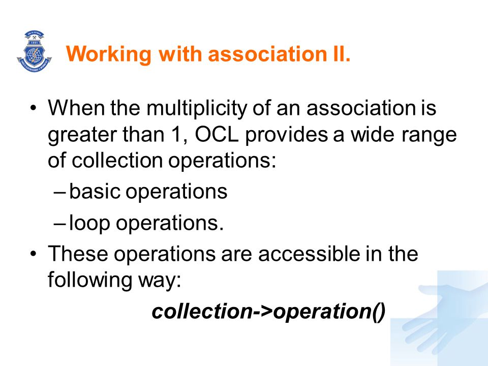Working with association II.