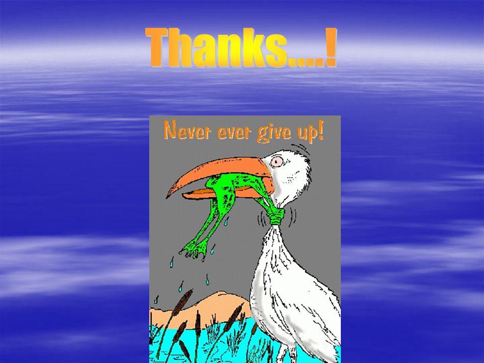 Thanks....!
