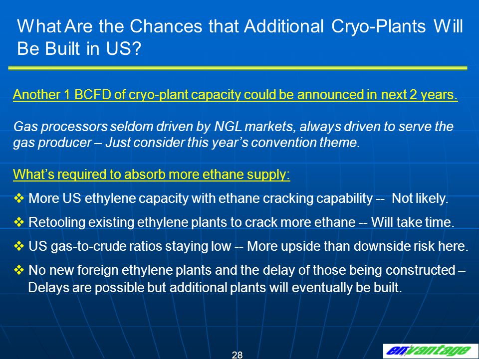 What Are the Chances that Additional Cryo-Plants Will Be Built in US