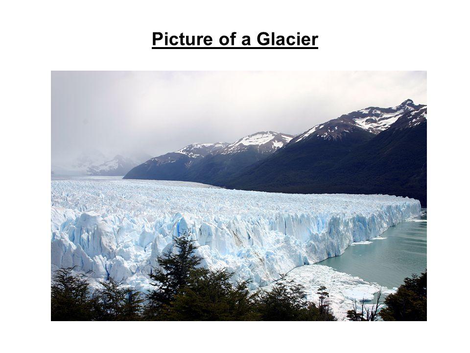 Picture of a Glacier