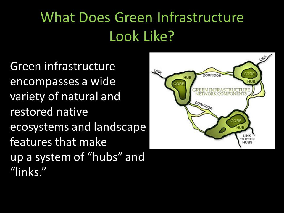 What Does Green Infrastructure Look Like