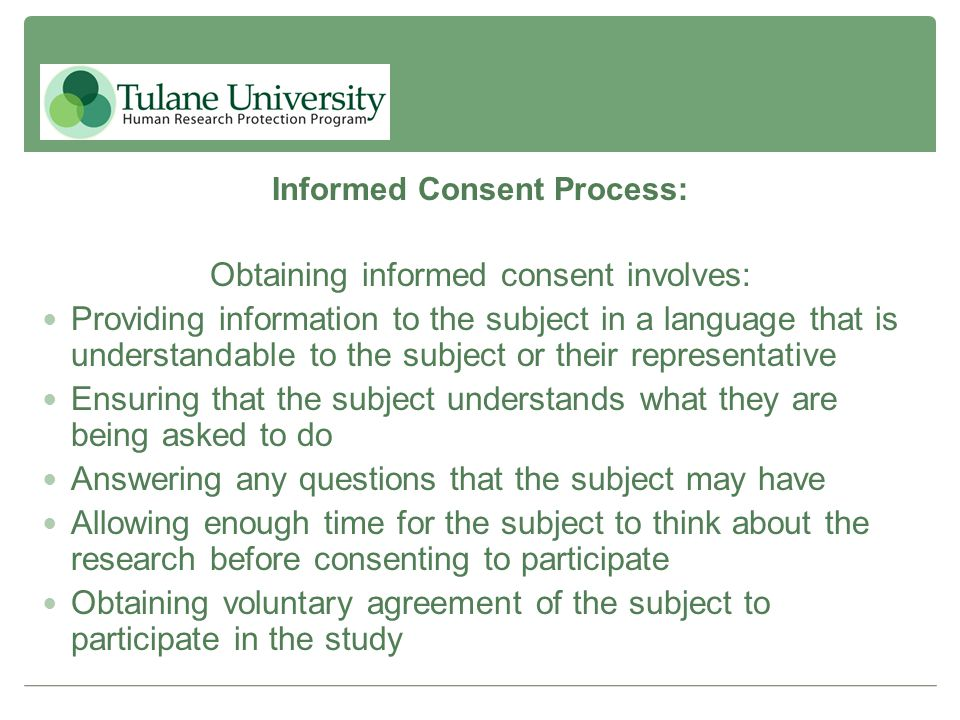 elements for av informed consent process for clinical trials Good clinical practice 1 informed consent informed consent  describe the overall research process  this document to state that required elements of consent.