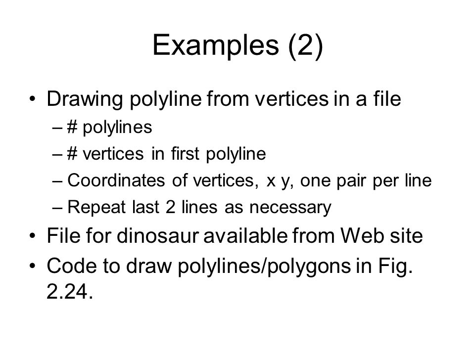 Examples (2) Drawing polyline from vertices in a file