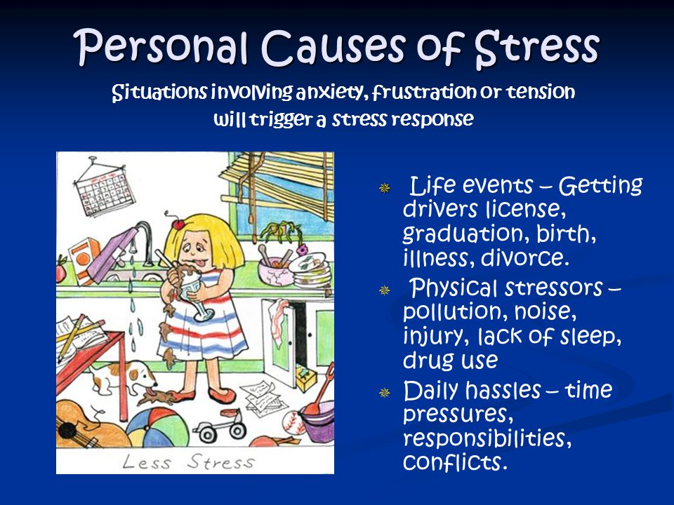 Personal Causes of Stress