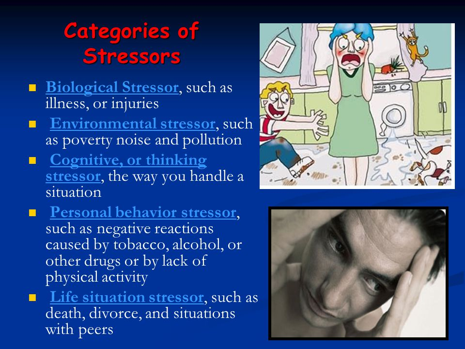 Categories of Stressors