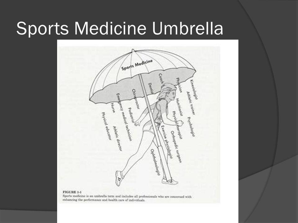 Sports Medicine Umbrella