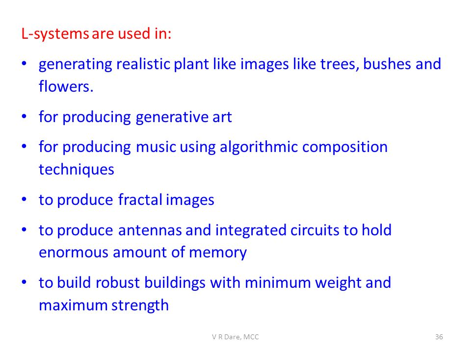 generating realistic plant like images like trees, bushes and flowers.