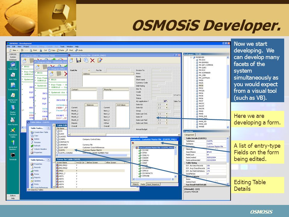 OSMOSiS Developer.