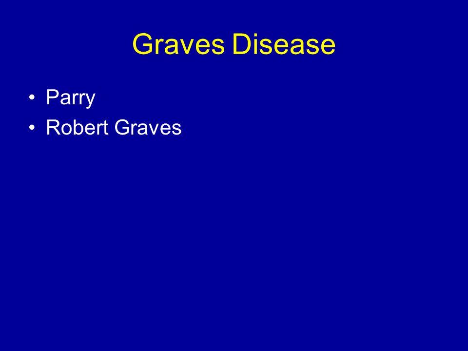 Graves Disease Parry Robert Graves