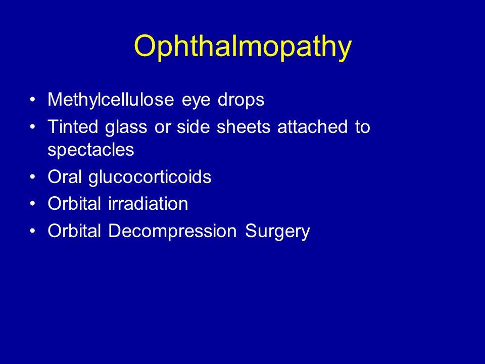 Ophthalmopathy Methylcellulose eye drops