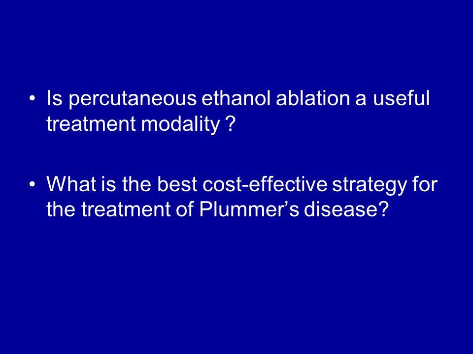 Is percutaneous ethanol ablation a useful treatment modality