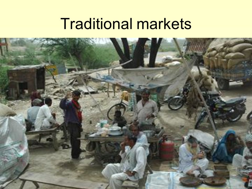 Traditional markets