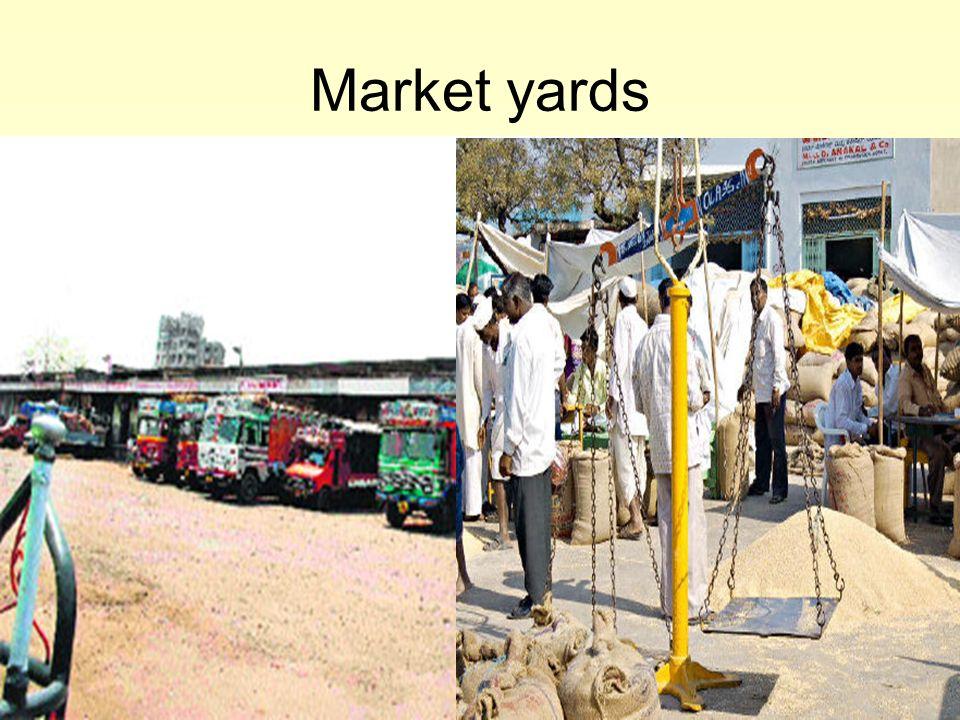 Market yards