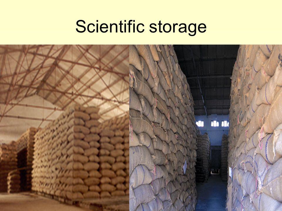 Scientific storage