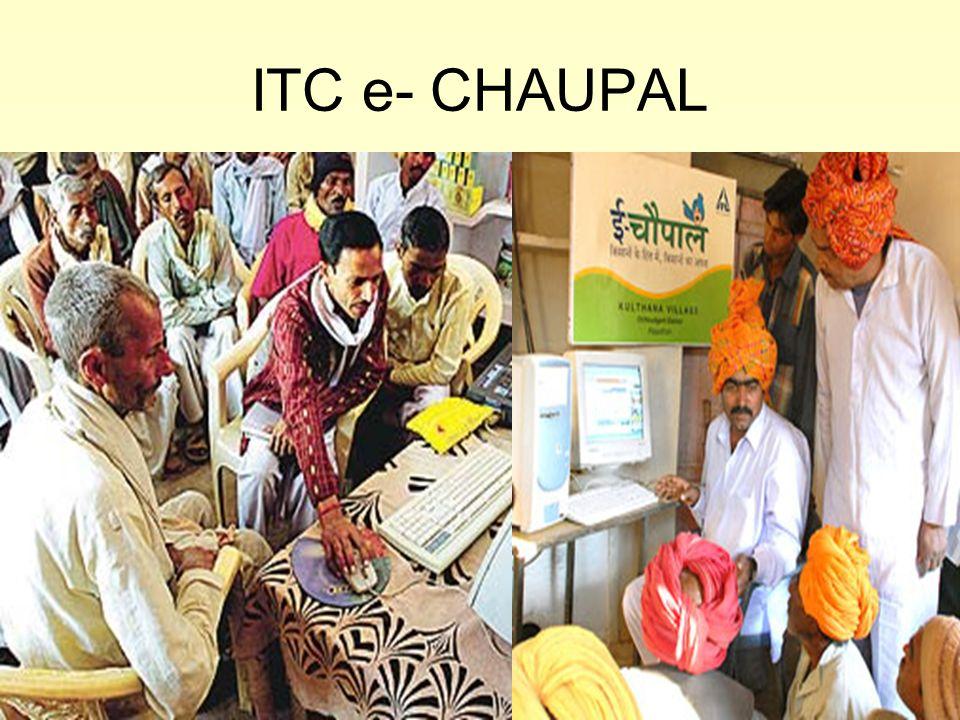 ITC e- CHAUPAL