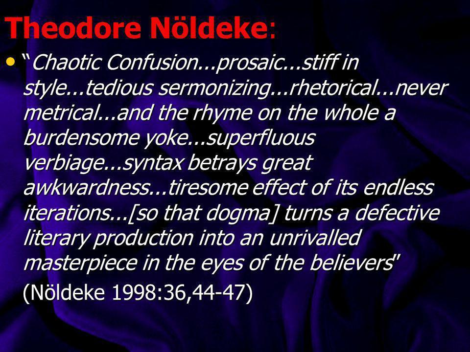 Theodore Nöldeke: