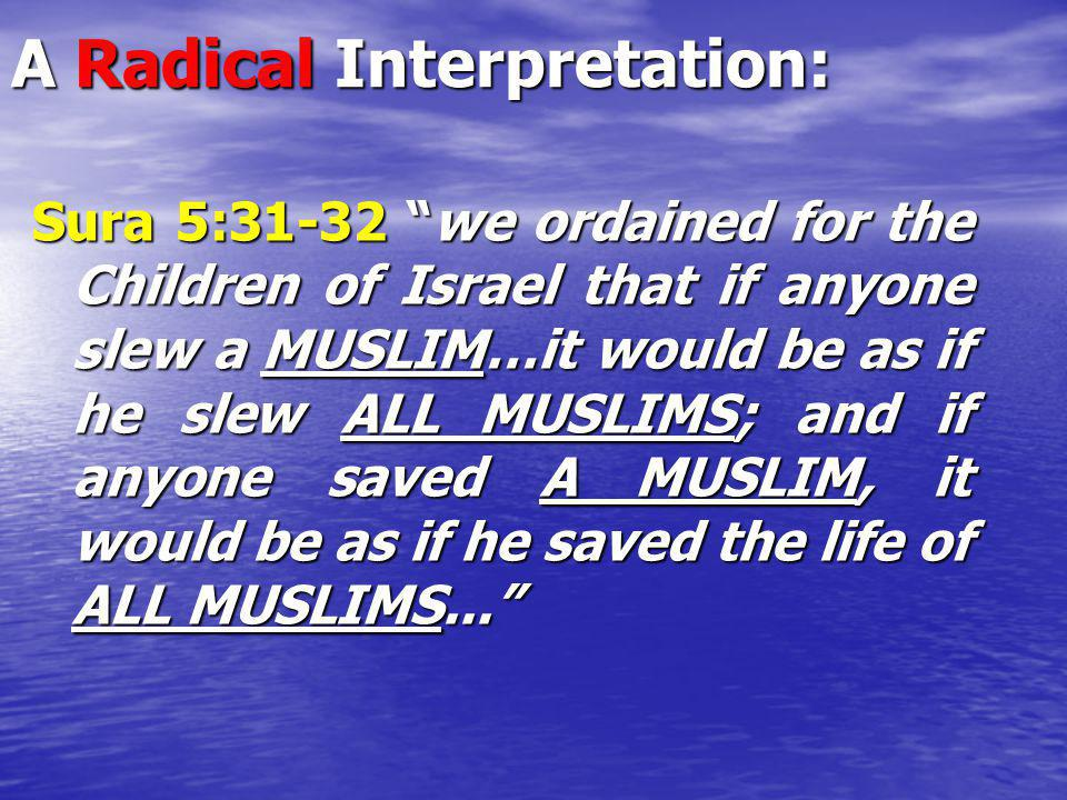 A Radical Interpretation: