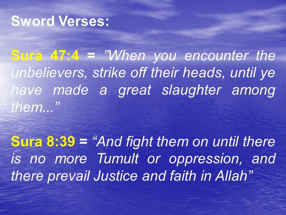 * 07/16/96. Sword Verses: