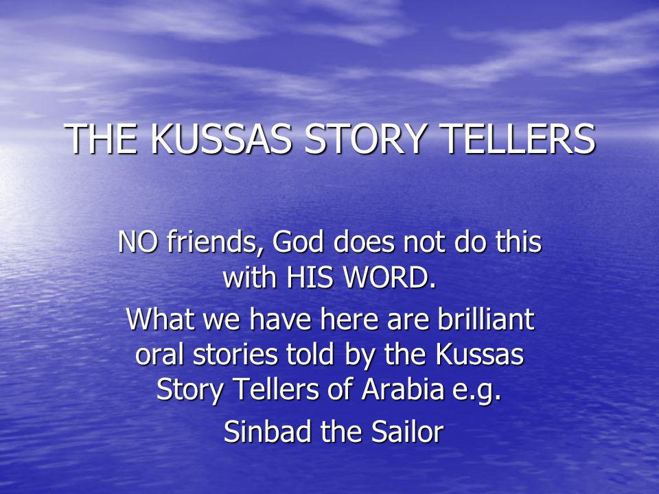 THE KUSSAS STORY TELLERS