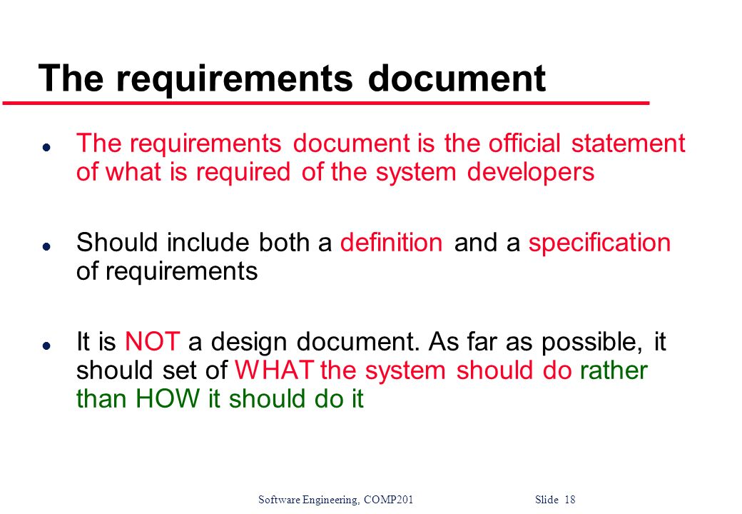 Writing Good Requirements: Checklists
