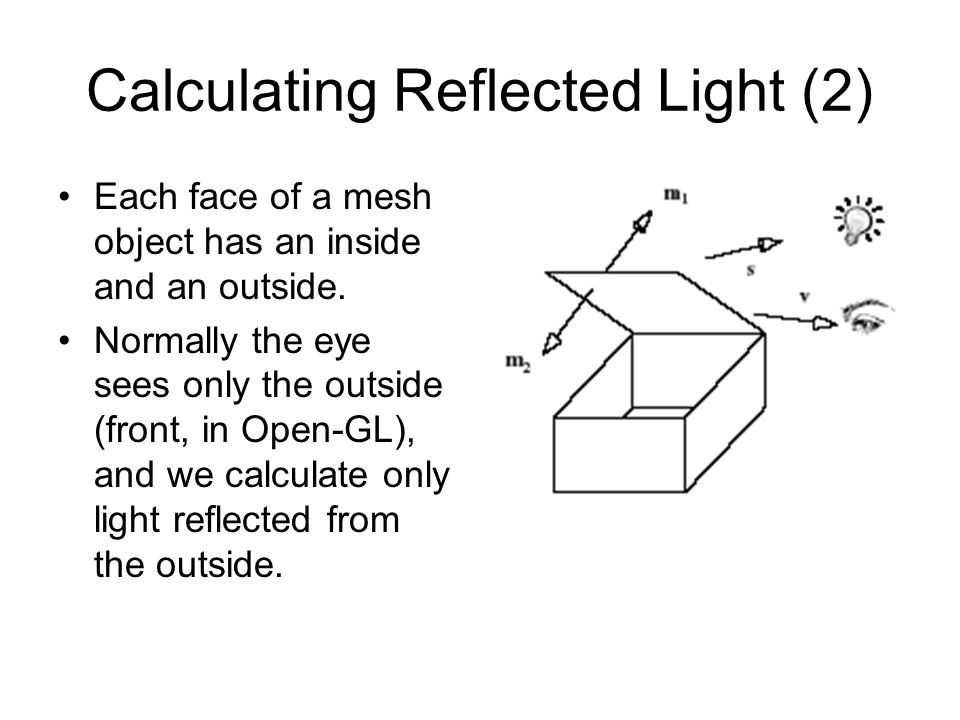 Calculating Reflected Light (2)